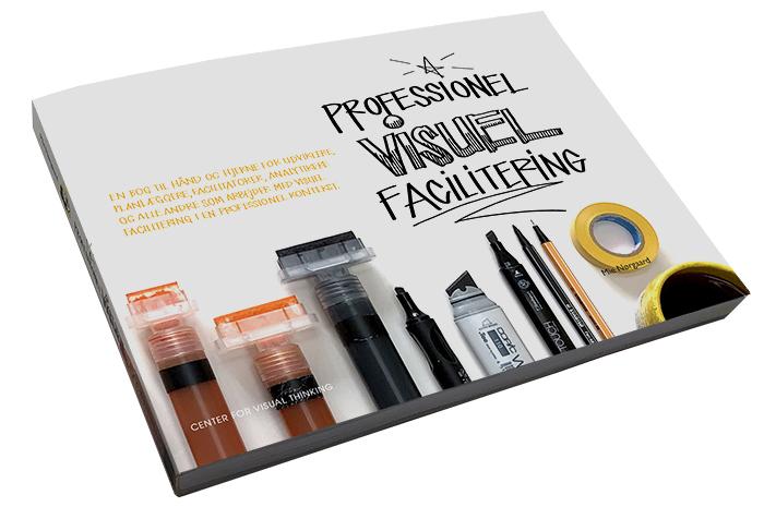 Forsiden af bogen Professionel Visuel Facilitering